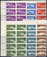 BULGARIA 1961 Universiade 1961 Set In Blocks Of 10 MNH / **.  Michel 1224-29 - Bulgaria