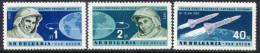BULGARIA 1962 Vostok 3 And 4 Team Flights Set  MNH / **.  Michel 1355-57 - Bulgaria