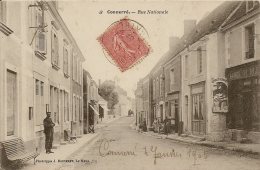 CONNERRE RUE NATIONALE CPA BE - Connerre