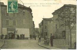 CPA  MONTAUROUX, Avenue Alexandre Poulle, Débit De Tabacs  9057 - Altri Comuni