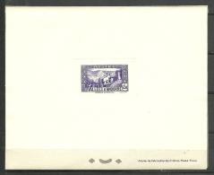 ANDORRA-  PRUEBAS DE LUJO CORREO FRANCES CATALOGO M. ABAD. N º  90  (S-12) - Hojas Bloque