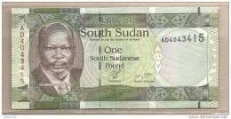 Sud Sudan - Banconota Non Circolata Da 1 Sterlina - 2011 - Sudan Del Sud