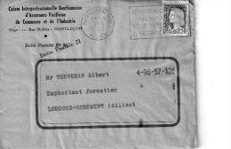 CAISSE INTERPROFESSIONNELLE BOURBONNAISE D ASSURANCE VIEILLESSE  MONTLUCON - 1950 - ...