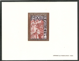 ANDORRA- CORREO FRANCES PRUEBAS DE LUJO C. M. ABAD Nº 198/200 (FICHERO C.E.) - French Andorra