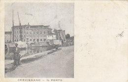 C-1039- Cervignano - Il Porto - Udine - F.p.  Viaggiata 1915 - Udine