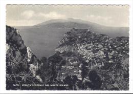 VER2812 - CAPRI Veduta Generale Dal Monte Solario . Nuova - Napoli