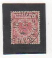 EMPIRE 1889-00 YT N° 47 Oblitéré - Allemagne
