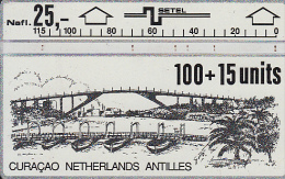 CURACAO - Bridge, CN : 406B, Used - Antilles (Netherlands)