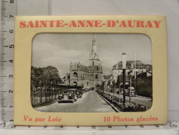 (56) Morbihan - SAINTE ANNE D'AURAY - 10 Photos Glacées - Sainte Anne D'Auray