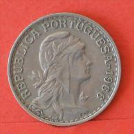 PORTUGAL  1  ESCUDOS  1966   KM# 578  -    (Nº03875) - Portogallo