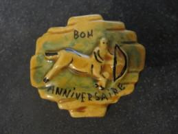 Fève Signe Du Zodiaque Bon Anniversaire De MAURIN - Sin Clasificación