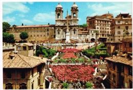 Carte Postale ROME - Trinita Dei Monti - Eglises