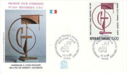 FRANCE 1988 EUROPA SYMPATHY ISSUE   FDC - European Ideas