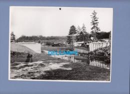 Photo Ancienne - KEDANGE ( Moselle ) - Reconstruction Du Pont - Photographie Industrielle - 1951 - Profesiones