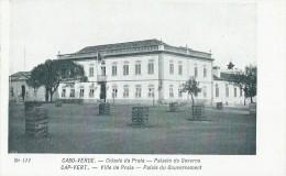 311Mx   Cap Vert Cabo Verde Cidade Da Praia Palacio Do Governo - Cap Vert
