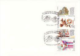 SPAIN 1986 EUROPA SYMPATHY ISSUE  FDC - European Ideas