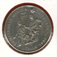 CUBA / KUBA *** 1 Peso 1988 ***  Cu-Ni - KM# 244 - 30mm - Soccer World Championship - Italy 1990 - Cuba