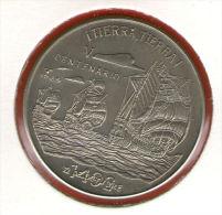 CUBA / KUBA *** 1 Peso 1989 ***  Cu-Ni - KM# 278 - 30mm - 500th Anniversary - Discovery Of America - Cuba