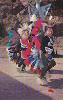 Little Cherokee Indian Dancers Cherokee Indian Reservation North