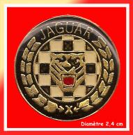 SUPER PIN´S JAGUAR : Gros Logo JAGUAR Diamètre 2,5 Cm - Jaguar