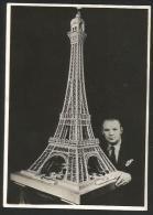 ALUMETTES 54'000 Paris Tour Eiffel Zündhölzer Matches Fiammiferi Milo Béral - Belle-Arti