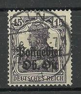 German Occupation Ober-Ost 1918 Estonia Latvia Lithuania 15 Pf O WILNA Vilnius - Occupation 1914-18