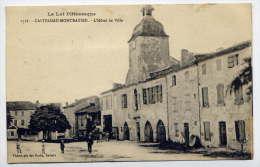 CASTELNAU-MONTRATIER--192 8--L´Hotel De Ville (animée) N°1718  éd Photoypie Des Docks ---pas Courante - Altri Comuni