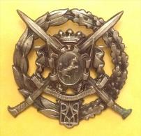 Distintivo - ALPINI / SAVOIA CAVALLERIA Distintivo Storico Campagna Di Russia - Armée De Terre