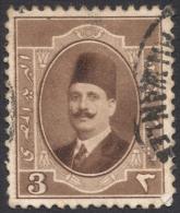 Egypt, 3 M. 1923, Sc # 94, Used - Egypt