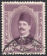 Egypt, 100 M. 1923, Sc # 101, Used - Egypt