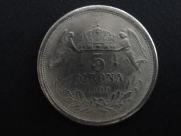 1900 - RARE - FAUX - FAUSSE MONNAIE 1 Korona Hongrie - 38 Mm De Diamètre - Hungría
