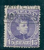 Spain 1901 Edifil 245 Cabranes Asturias Used - 1889-1931 Kingdom: Alphonse XIII