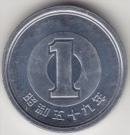 @Y@   Japan  1 Yen 1984  From BU Set   (2483) - Japon
