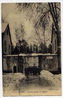 Alg�rie -- MEDEA -1928-- Quartier Yusuf (caserne) - R�giment 1er Spahis (anim�e,neige ) �d Y.Chalon
