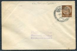 1938 Germany Kaltenleutgeben Wasserkuren Brief - Deutschland