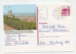 GERMANY - AK 178935 R 1/8 40 000 2.87 Wachenheim An Der Weinstraße - [7] République Fédérale