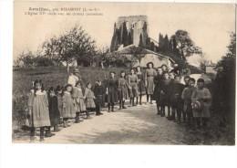 47---ARMILLAC---prés Miramont-l´église XVe Siècle Avec Ses Curieux Contreforts--voir 2 Scans - Autres Communes