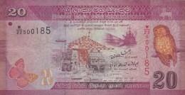Sri Lanka - Billet De 20 Rupees - 1er Janvier 2010 - Sri Lanka