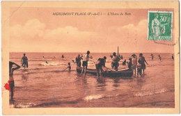 62. MERLIMONT-PLAGE. L'Heure Du Bain - France