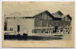 Alg�rie--Sud Oranais--SAIDA--Le March� Couvert (anim�e) n�3693 �d Gonet--carte pr�curseur peu courante
