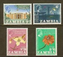 ZAMBIA 1965 MNH Stamp(s) Independence 22-25  #6161 - Zambia (1965-...)