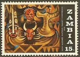 ZAMBIA 1970 MNH Stamp(s) Non Alied Nations 65  #6176 - Zambia (1965-...)