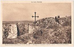 42. SAINT-GENEST-MALIFAUX. Montagne De Chaussitre. Croix De Saint-Martin - Andere Gemeenten