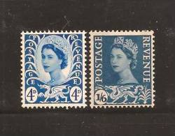 UK Wales 1966 Mint Hinged Stamps, QE II, 2 Values Only Nrs. 4=6 - Regional Issues