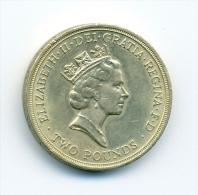 Angleterre 2 Pounds Commonwealth Games - 1971-… : Monete Decimali