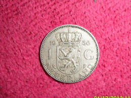 1 Golden / P.Bas / Argent/ De 1956 En SUP.(Tres Jolie Monnaie). - [ 8] Monnaies D'or Et D'argent