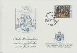 =LICHTENSTEIN  1999 Weinachts - Liechtenstein