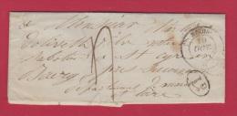 LETTRE DE BLOIS //   POUR SAUMUR  // - 1849-1876: Classic Period