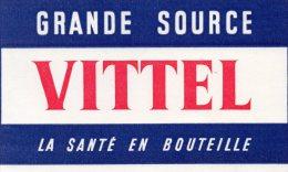 - BUVARD Eau VITTEL- 558 - Alimentaire