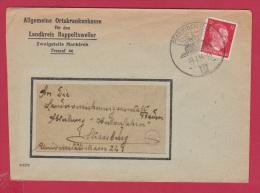 ENV DE MARKIRCH //   POUR  STRASBOURG  //  20/7/1944 - Covers & Documents